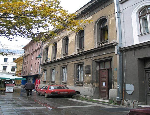 Stambena zgrada u ulici Sime Milutinovića