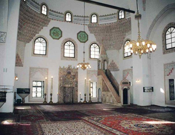 Unutrašnjost Gazi Husreve-begove džamije